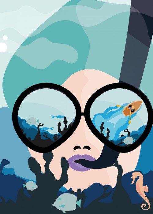Poster-Onderwaterwereld